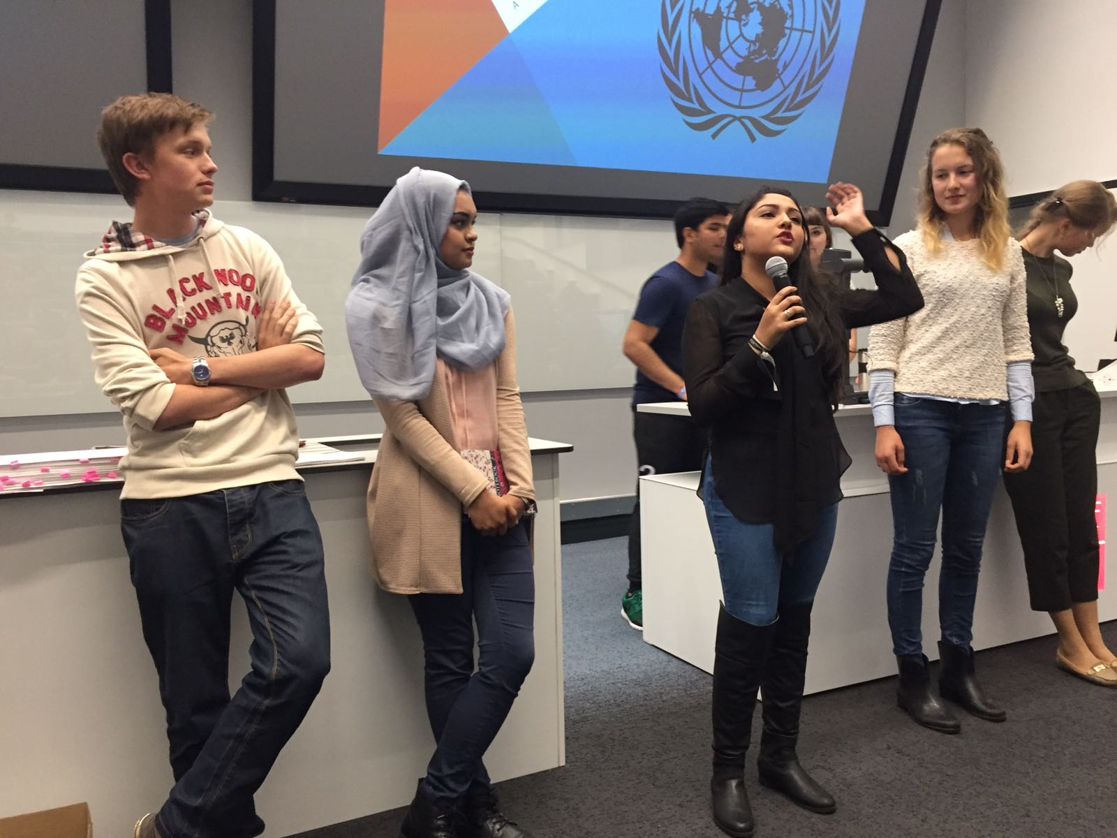 Public speaking exercise