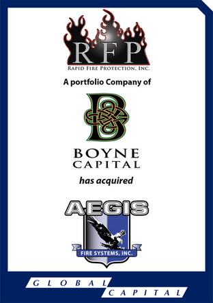 Global Capital Markets Advises Aegis Fire Systems in its Sale to Rapid Fire Protection