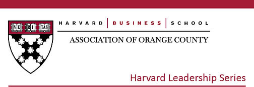 Harvard Business School Association of Orange County
