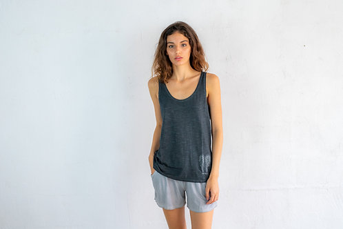 Embroidered Small Wings Basic Top 06