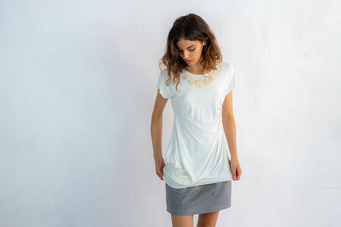 Long Asymmetric T-shirt 03