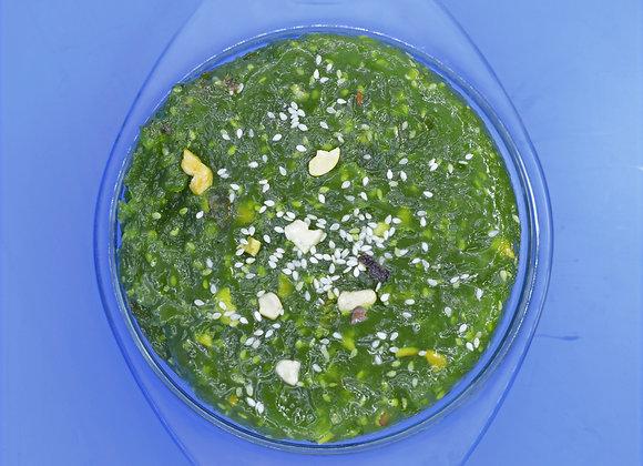 Halwa -Green Chilly