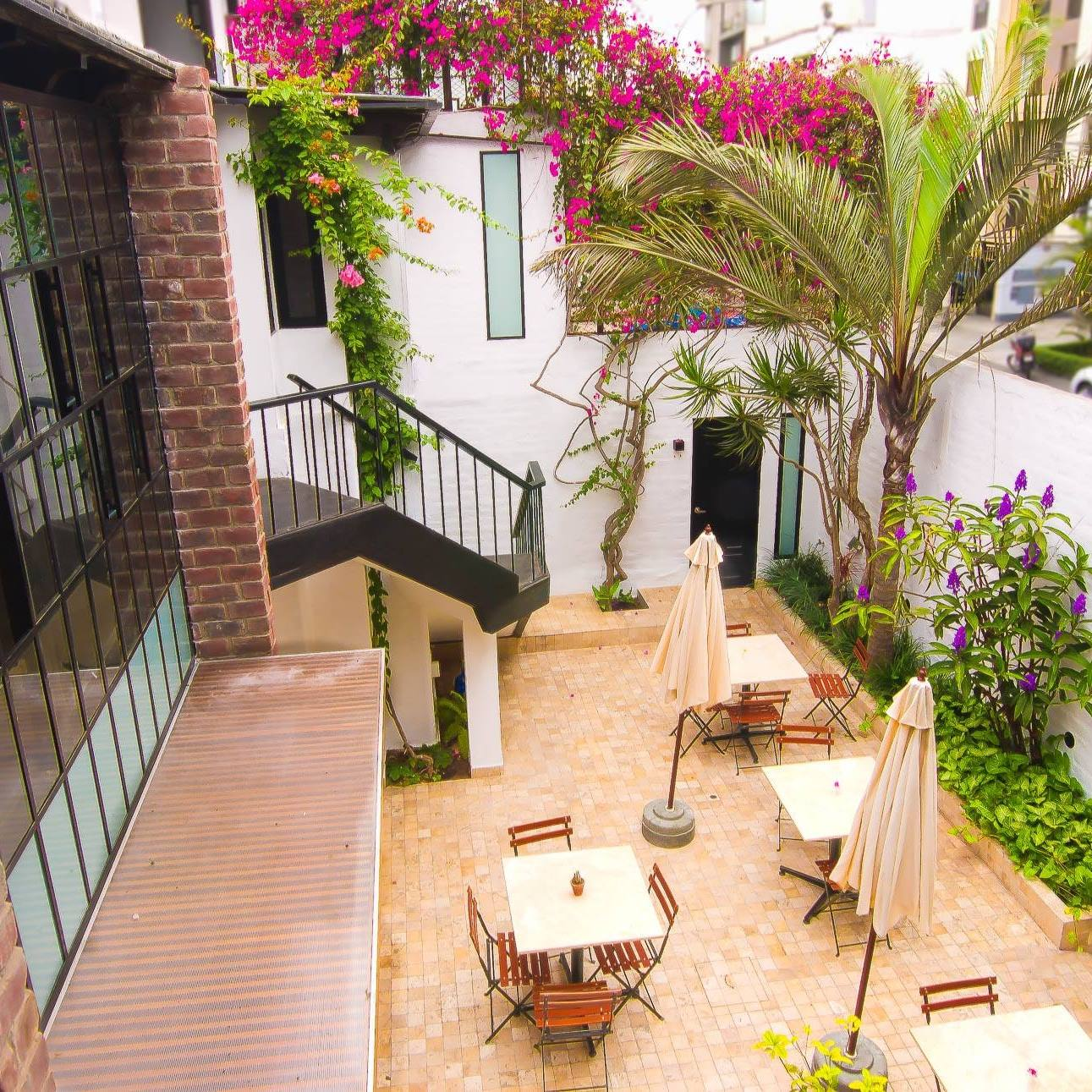 Hotel Boutique_Patio