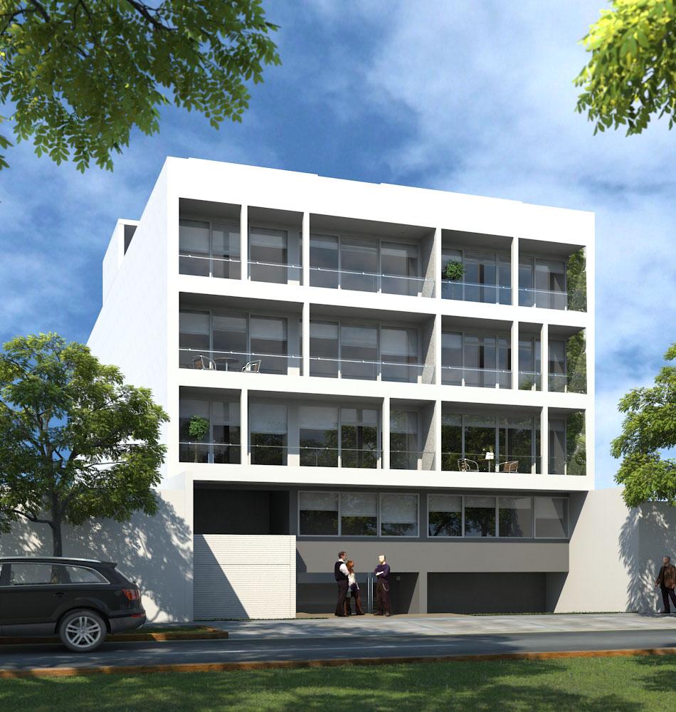 3D Edificio Gladiolos