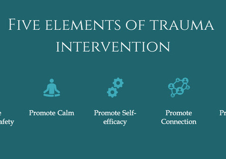 How the Five Essential Elements of Trauma Intervention can guide practice during COVID-19.
