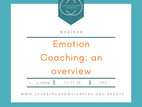 Emotion Coaching: answering those 'wh' questions