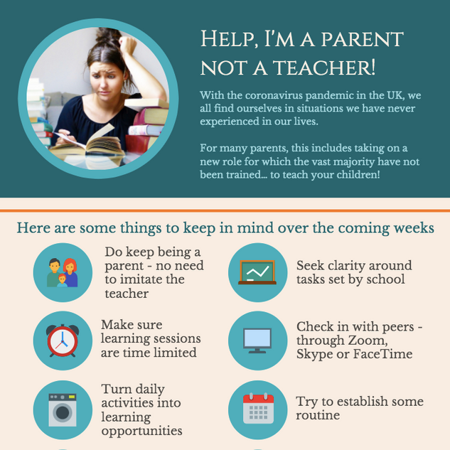 Help, I'm a parent not a teacher