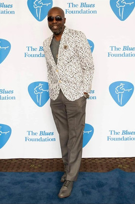 Mr Sipp at the Blues Foundation for the