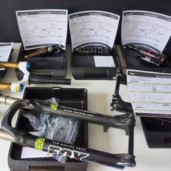 Reception fourche et amortisseur VTT et vélo LPDV Suspension 2