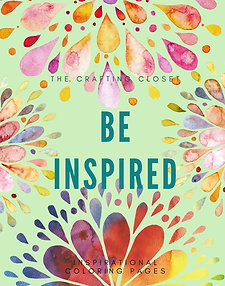 Be Inspired Coloring Pages