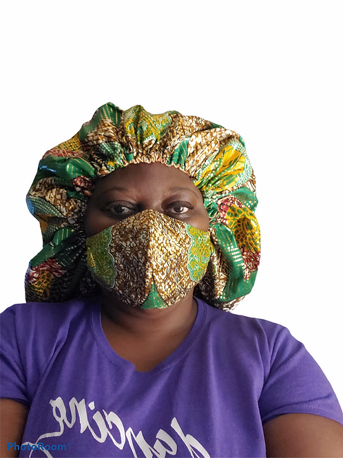 Satin Lined Hair Bonnet