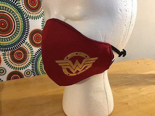 Wonder Woman Washable Face Mask