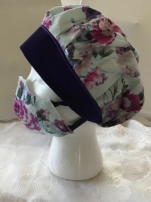 Bouffant Surgical Cap and Fitted Mask Set