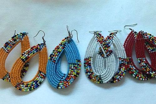 African Masaai Earrings