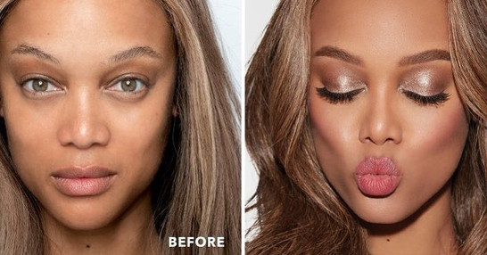 Brittany Ingram's work on Tyra Banks : Photo from Instagram