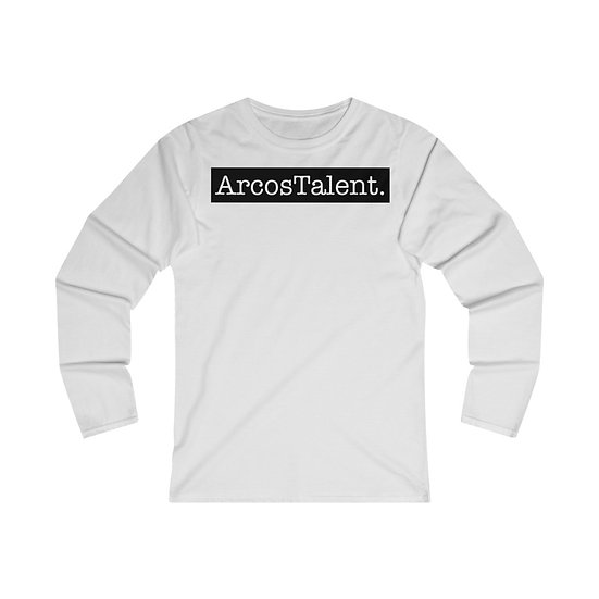 ArcosTalent. Fitted Long Sleeve Tee