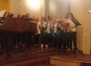 Succès de la Chorale Nikaïa Soul au profit des aidants de l'association ARA.