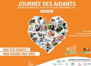 14 décembre 2018 Journée des Aidants  à Nice.