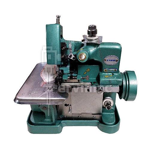 Máquina de Coser Overlock 3 Hilos Verde
