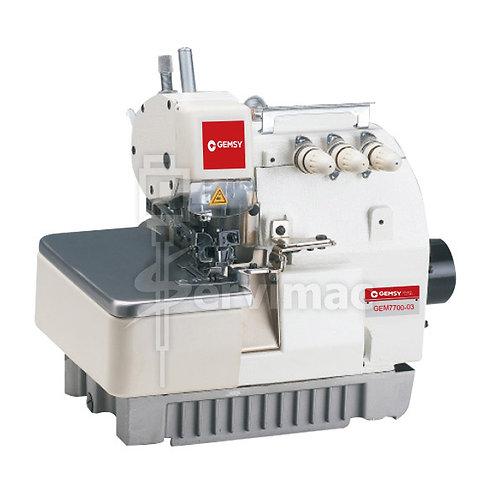 Máquina de Coser Overlock 3 Hilos 1 Aguja