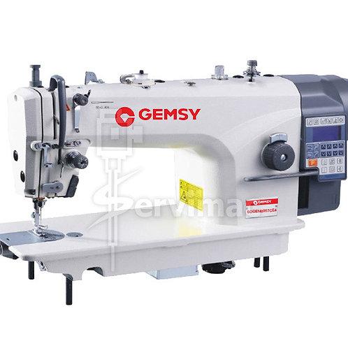 Máquina de Cose Recta Motor Incorporado Programa de Costura y Función Automática