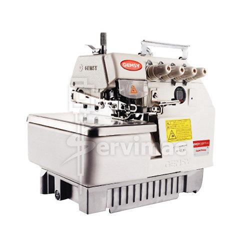 Máquina de Coser Overlock 4 Hilos 2 Agujas con Motor Incorporado
