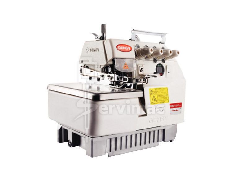 Máquina de Coser Overlock de 4 Hilos Con Motor Incorporado 7604D