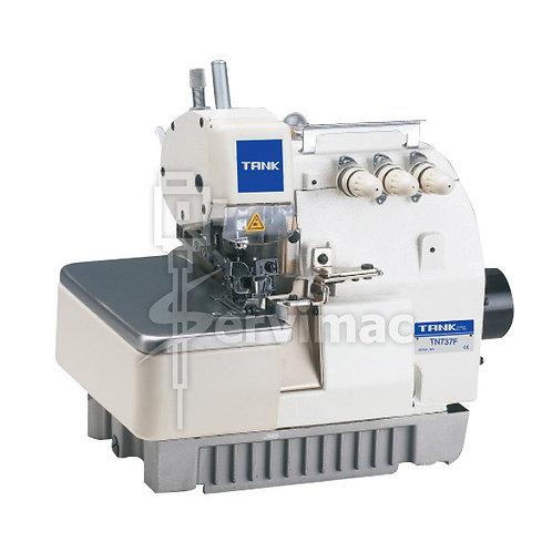 Máquina de Coser Overlock 3 Hilos 1 Aguja Lubricación Automática