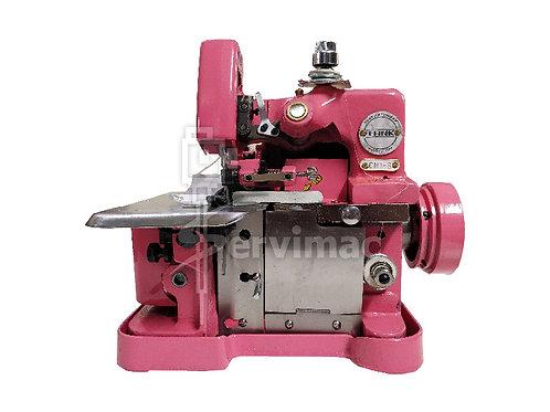 Máquina de Coser Overlock 3 Hilos-Rosa