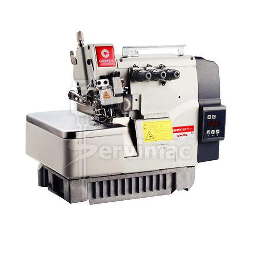 Maquina de Coser Overlock Motor Incorporado 3 Hilos 1 Aguja Tanque
