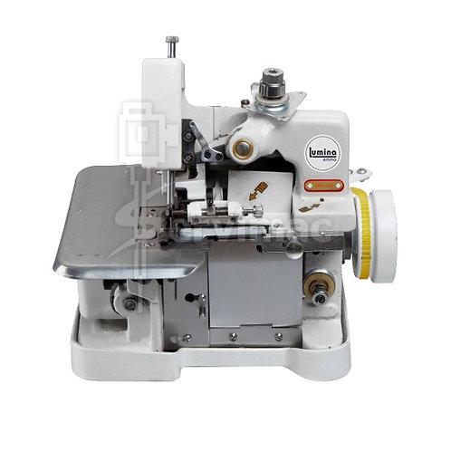 Máquina de Coser Overlock con Motor Incorporado de 3 Hilos