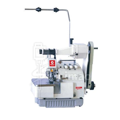 Máquina de Coser Overlock 3 Hilos con Alimentador de Elástico