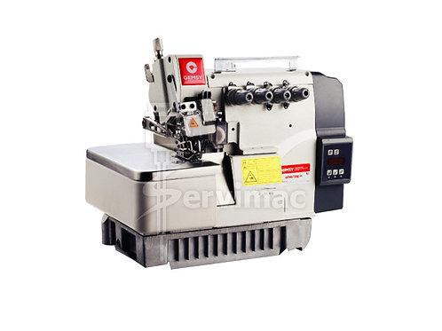 Máquina de Coser Overlock 5 Hilos 2 Agujas (PESADA) con Motor Incorporado