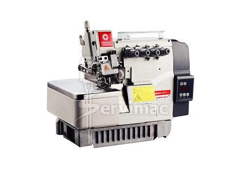 Máquina de Coser Overlock 4 Hilos con Motor Incorporado y Atracador de Colita