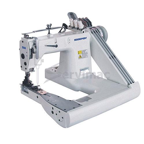 Máquina de Coser 2 Agujas de Puntada Cadeneta