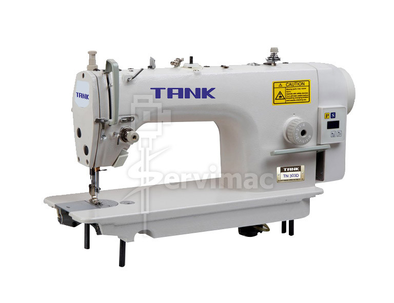 Máquina de Coser Cuero de Doble Arrastre con Motor Incorporado TN0303D