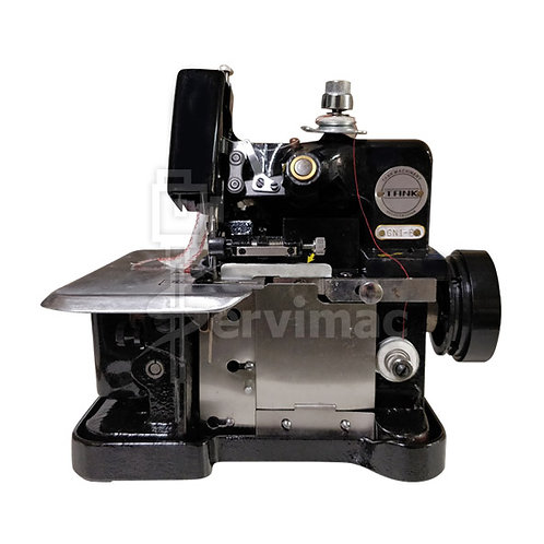 Máquina de Coser Overlock 3 Hilos-Negro