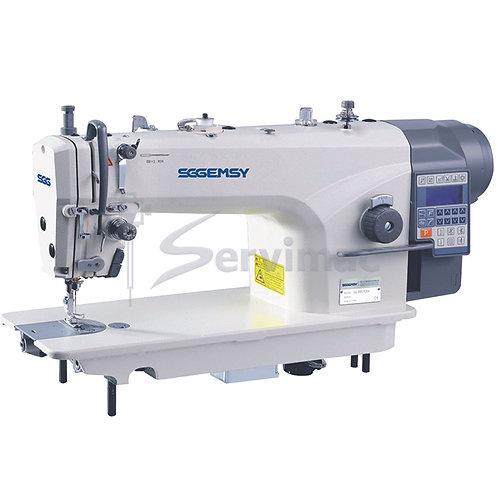 Máquina de Coser Recta con Motor Incorporado - Programas de Costura y Funciones