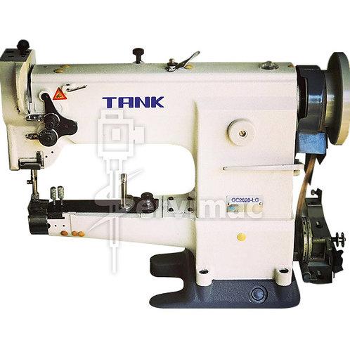 Máquina de Coser Cuero Trensillar Triple Arrastre Crochet Grande