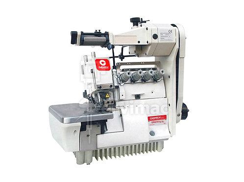 Máquina de Coser Overlock 4 Hilos con Alimentador de Elástico