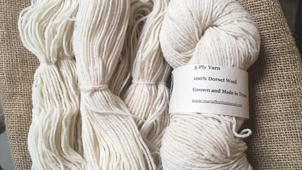 Three-ply Dorset Yarn