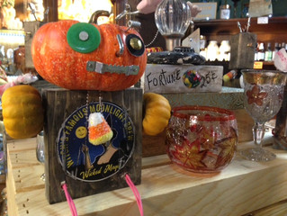 Perfect for Halloween: Local Handcrafted Art at the Shop!