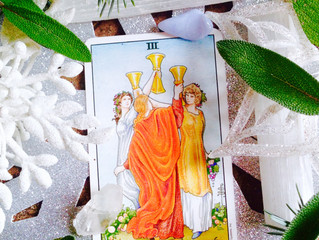 Thankfulness & The Three of Cups