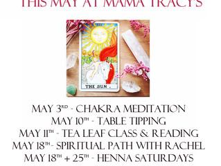 This May at Mama Tracy's!