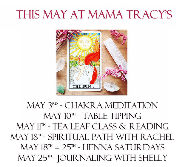 This May at Mama Tracy's! | mysite