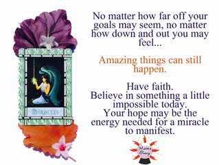Angel Card for the Day: Miracles