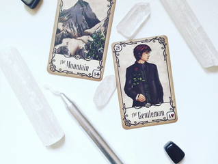 Lenormand Energy for the Day: The Mountain & The Gentleman