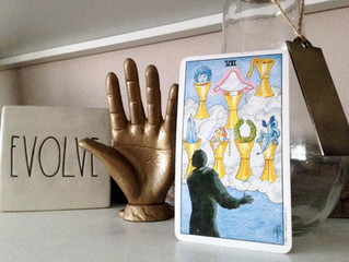 Energy for the Week: The Seven of Cups