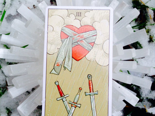The Three of Swords: When You're Going Thru Hard Seasons of Life