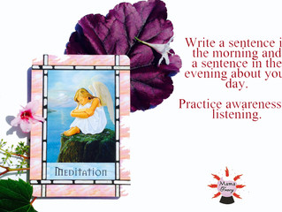 Angel Card for the Day: Meditation